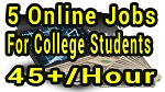 5 Online Jobs For College Students With No Experience | myimtips